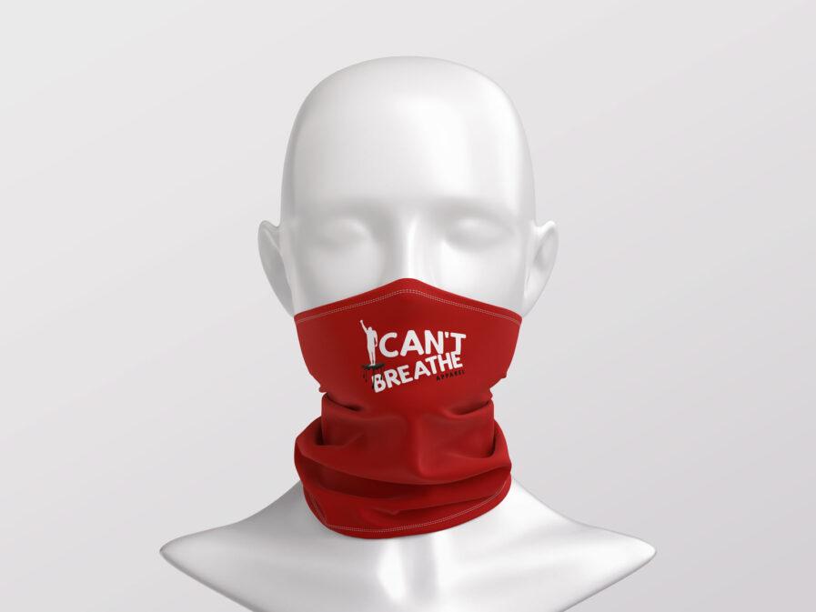 I Cant Breathe Face Masks & Neck Gaiters